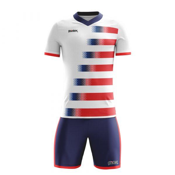 Completo Calcio Personalizzabile USA Slim Fit manica corta