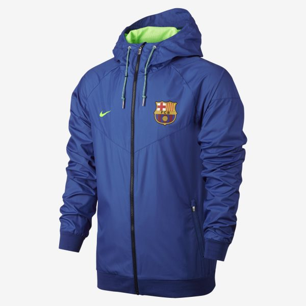 outlet store 8e83c d64ef FC Barcellona Windrunner Nike Giacca a vento