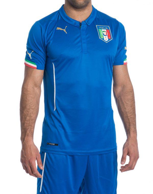 ee1dd5c23 Maglia Gara Puma ITALIA Nazionale Home Azzurra 13/15 - Footex.it
