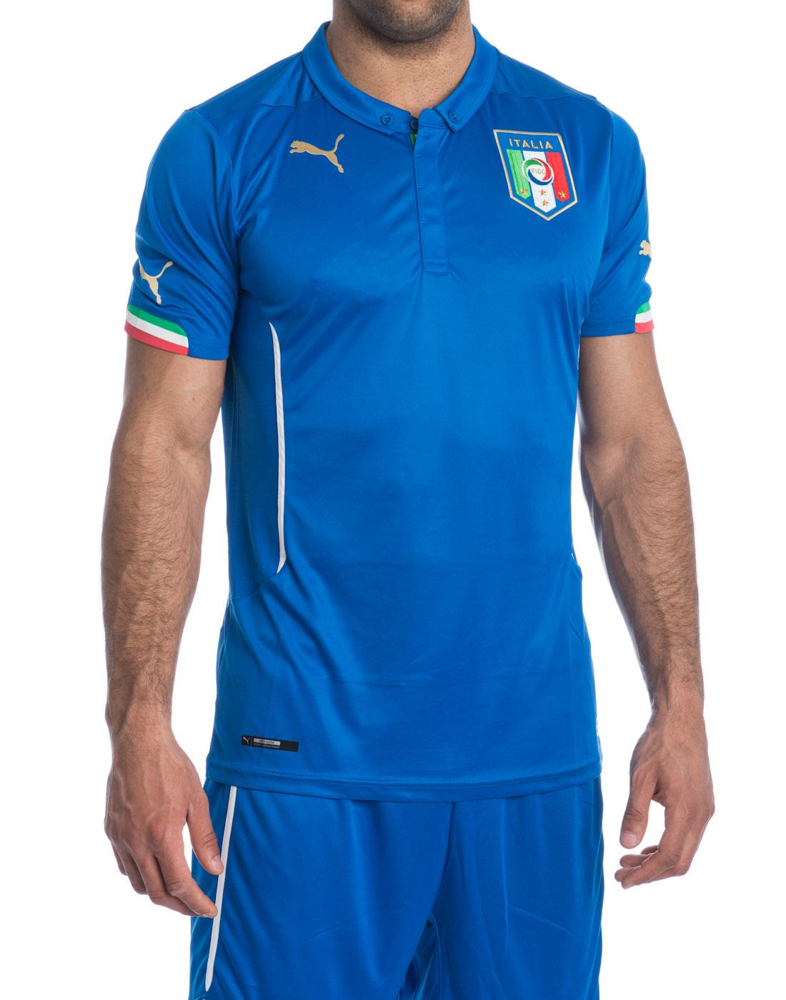 Maglia Gara Puma ITALIA Nazionale Home Azzurra 13/15
