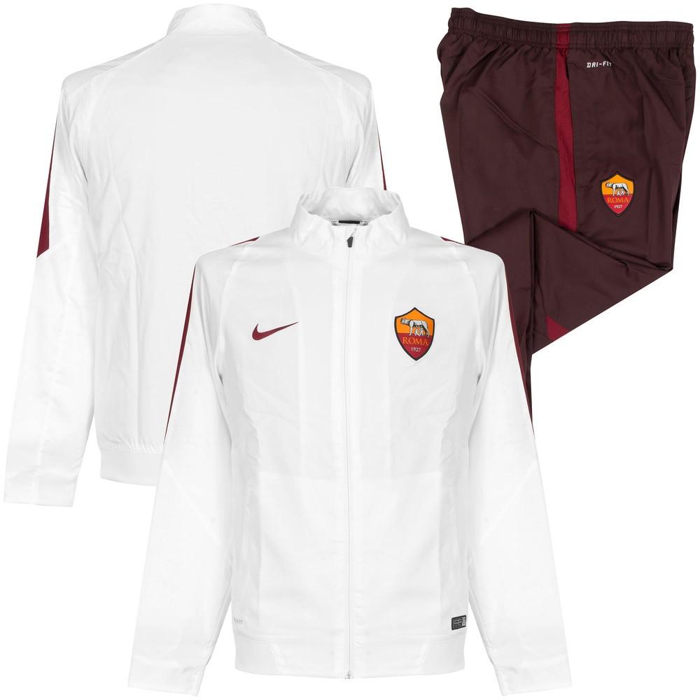 scrutinare Serratura scatola  Tuta Riscaldamento Nike A.S.ROMA Revolution Sdln 15/16 - Footex.it