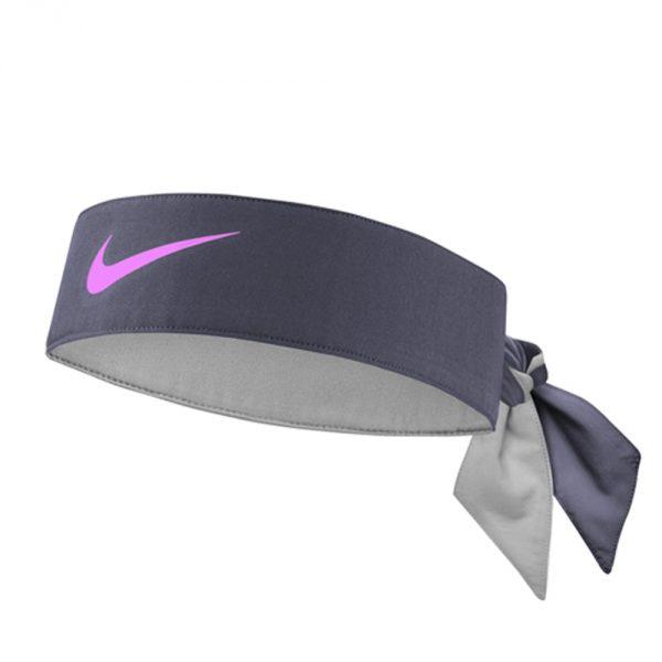 NikeFasciaTennisDryGrigioFuxia