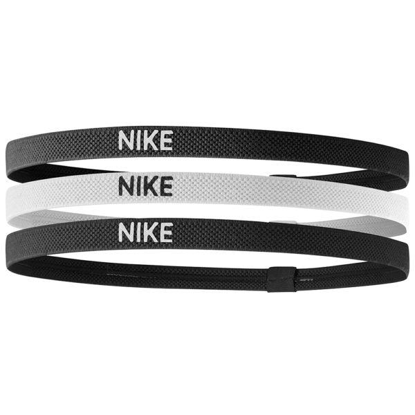 NIKE Swoosh Sport Headbands 3PK 2.0 BlackWhiteBlack