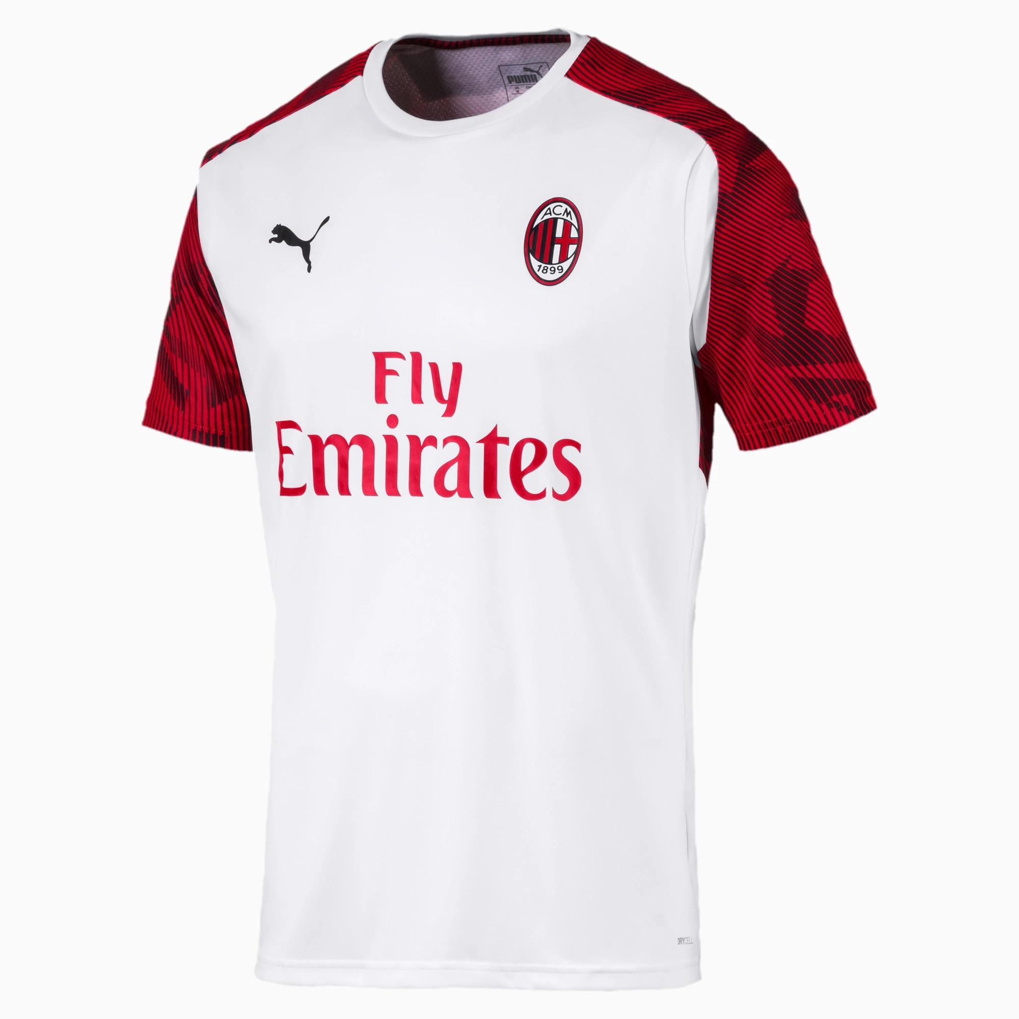 Puma Maglia Allenamento Calcio Training AC Milan 2019/20 White